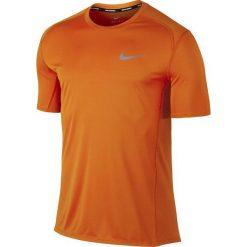 Nike Koszulka męska Dry Miler Top SS pomarańczowa r. XL (833591-867). Brązowe koszulki sportowe męskie marki Nike, m. Za 110,00 zł.