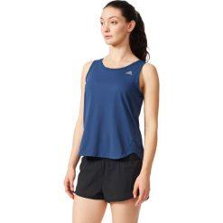 Adidas Koszulka Run Tank granatowa r. 40 (AH9978). Szare topy sportowe damskie marki Adidas, l, z dresówki, na jogę i pilates. Za 59,00 zł.