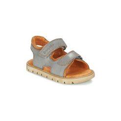 Sandały Dziecko  Babybotte  KRUMBLE. Szare sandały chłopięce marki Babybotte. Za 255,20 zł.