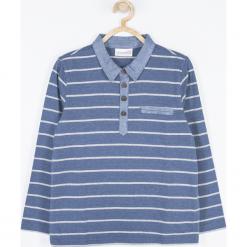 Koszulka. Szare t-shirty chłopięce z długim rękawem MOTORCYCLE CLUB, z bawełny. Za 55,90 zł.