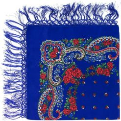 Chusty damskie: Art of Polo Chusta damska Słowianka niebieska