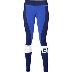 Spodnie damskie: Asics Legginsy damskie Color Block Tight niebieskie r. M (146422-8091)