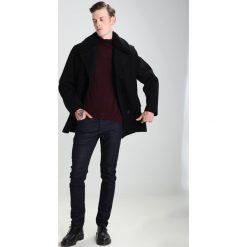 Swetry klasyczne męskie: CLOSED Sweter bordeaux