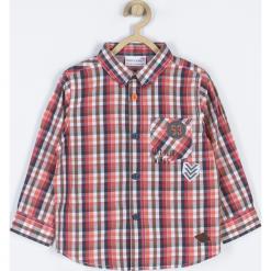 Koszula. Szare koszule chłopięce z długim rękawem marki FIND YOUR WINGS, z aplikacjami, z bawełny. Za 65,90 zł.