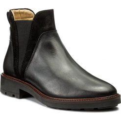 Sztyblety GANT - Emilia 15541027 Black G00. Czarne buty zimowe damskie GANT, z materiału, na obcasie. W wyprzedaży za 389,00 zł.
