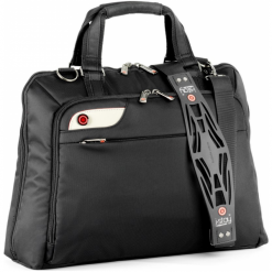 """I-Stay IS0106 15.6"""" czarna. Czarne torby na laptopa i-Stay, w paski. Za 249,00 zł."""