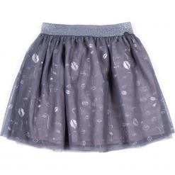 Spódnica. Szare spódniczki dziewczęce z falbankami LIPS, z gumy. Za 49,90 zł.