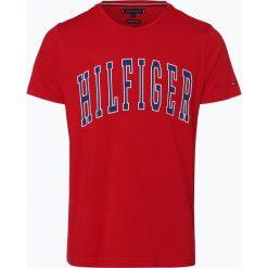 Tommy Hilfiger - T-shirt męski, czerwony. Szare t-shirty męskie marki TOMMY HILFIGER, z bawełny. Za 139,95 zł.