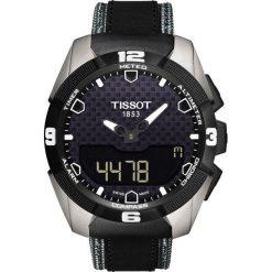 RABAT ZEGAREK TISSOT TOUCH COLLECTION T091.420.46.051.01. Czarne zegarki męskie marki TISSOT. W wyprzedaży za 3511,20 zł.