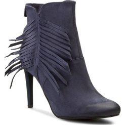 Botki CARINII - B3277 Samuel 1680/2/Oc Filc. Niebieskie buty zimowe damskie Carinii, z nubiku. W wyprzedaży za 209,00 zł.
