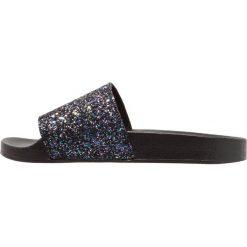 Chodaki damskie: Office SPANDANGLE Klapki black glitter