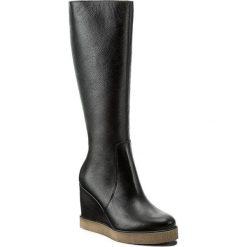 Kozaki KABAŁA - 239-494-516-1-00-01-01 Czarny. Czarne buty zimowe damskie marki Kabała, ze skóry. W wyprzedaży za 349,00 zł.