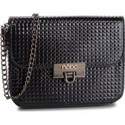 Torebka NOBO - NBAG-FF0040-C020 Czarny. Czarne torebki klasyczne damskie marki Nobo, ze skóry ekologicznej. W wyprzedaży za 119,00 zł.