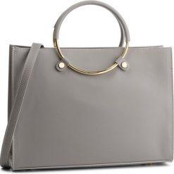 Torebka CREOLE - K10586 Szary. Szare torebki klasyczne damskie Creole, ze skóry. Za 359,00 zł.