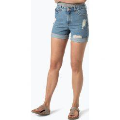 Bermudy damskie: Vila – Damskie spodenki jeansowe – Jules, niebieski