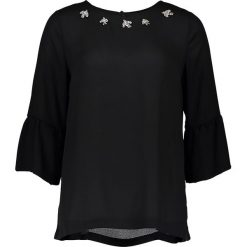 Topy sportowe damskie: Bluzka – Comfort fit – w kolorze czarnym