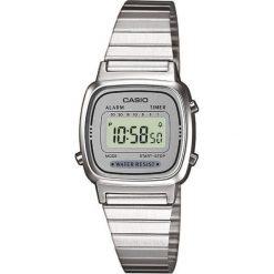 Zegarek Casio Zegarek damski Retro srebrny (LA670WEA-7EF). Szare zegarki damskie CASIO, srebrne. Za 153,00 zł.