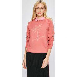 Femi Stories - Bluza Palms. Różowe bluzy rozpinane damskie Femi Stories, l, z nadrukiem, z bawełny, bez kaptura. W wyprzedaży za 169,90 zł.