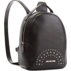 Plecak LOVE MOSCHINO - JC4117PP16LU000B Nero/Nk. Czarne plecaki damskie Love Moschino, ze skóry ekologicznej, eleganckie. Za 719,00 zł.