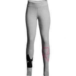 Spodnie damskie: Under Armour Legginsy damskie Finale Knit Legging szare r. XL (1311007-025)