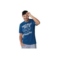 T-shirt męski z printem. Szare t-shirty męskie marki TXM, z dresówki. Za 9,99 zł.