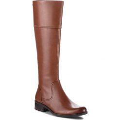 Oficerki CAPRICE - 9-25525-21 Cognac Nappa 303. Brązowe buty zimowe damskie Caprice, z materiału. Za 519,90 zł.