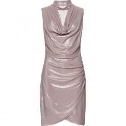 Sukienka bonprix złocisty. Żółte sukienki balowe bonprix. Za 129,99 zł.