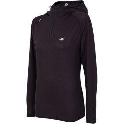 Damska bluza funkcyjna 4F Dry Control Black. Czarne bluzy z kapturem damskie marki Astratex, ze skóry, długie. Za 135,09 zł.