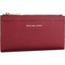 Duży Portfel Damski MICHAEL MICHAEL KORS - Money Pieces 32S8GF6D7L Maroon. Czerwone portfele damskie MICHAEL Michael Kors, ze skóry. Za 369,00 zł.