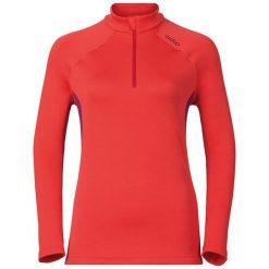Odlo Bluza damska Midlayer 1/2 zip TAHOE  czerwona r. XL (221991). Czerwone bluzy sportowe damskie marki Odlo, xl. Za 196,59 zł.