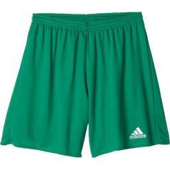 Adidas Spodenki męskie Parma 16 zielone r. M (AJ5884). Białe spodenki sportowe męskie marki Adidas, l, z jersey, do piłki nożnej. Za 41,99 zł.