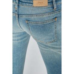 Only - Jeansy DESTROY. Szare jeansy damskie marki ONLY, s, z bawełny, z okrągłym kołnierzem. Za 169,90 zł.