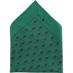 Krawaty męskie: Polo Ralph Lauren BOLD POLO PLAYER POCKET SQUARE  Krawat green