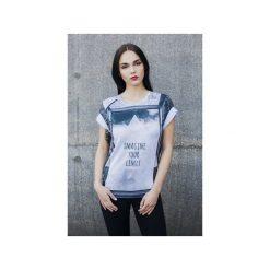 T-shirt Imagine Your Limit. Szare t-shirty damskie Bahabay, m, z nadrukiem, z bawełny. Za 83,30 zł.