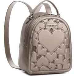 Plecak LOVE MOSCHINO - JC4050PP16LH0910 Peltro. Szare plecaki damskie marki Love Moschino, z materiału, eleganckie. Za 929,00 zł.