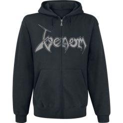 Bejsbolówki męskie: Venom Black metal Bluza z kapturem rozpinana czarny