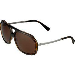 Dolce&Gabbana Okulary przeciwsłoneczne havana. Brązowe okulary przeciwsłoneczne męskie wayfarery Dolce&Gabbana. Za 1089,00 zł.
