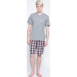 Henderson - Piżama Mash. Szare piżamy męskie Henderson, l, z bawełny. W wyprzedaży za 59,90 zł.
