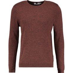 Swetry klasyczne męskie: Topman HONEY TWIST SIDE Sweter brown