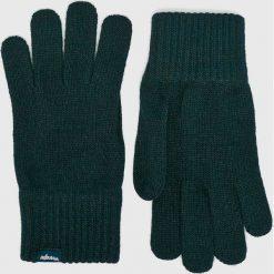 Wrangler - Rękawiczki. Czarne rękawiczki męskie Wrangler. Za 79,90 zł.