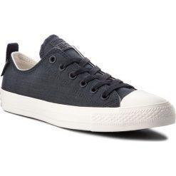 Trampki CONVERSE - Ctas Ox 161434C Black/Egret/Gum. Czarne trampki męskie Converse, z gumy. W wyprzedaży za 229,00 zł.