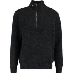 GStar EMPRAL HALF ZIP KNIT L/S Sweter dark black/raven. Szare kardigany męskie G-Star, l, z bawełny. W wyprzedaży za 454,30 zł.