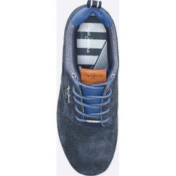 Pepe Jeans - Buty. Szare halówki męskie Pepe Jeans, z gumy, na sznurówki. W wyprzedaży za 239,90 zł.