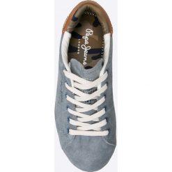 Pepe Jeans - Tenisówki dziecięce. Szare buty sportowe chłopięce Pepe Jeans, z gumy, na sznurówki. W wyprzedaży za 119,90 zł.
