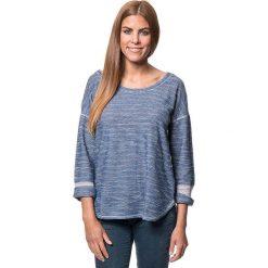 Sweter w kolorze niebieskim. Niebieskie swetry klasyczne damskie marki Benetton, xs, z okrągłym kołnierzem. W wyprzedaży za 86,95 zł.