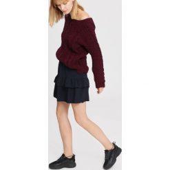 Bordowy Sweter Stoicism. Czerwone swetry klasyczne damskie marki other, na jesień, uniwersalny. Za 79,99 zł.