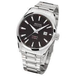 ZEGAREK EPOS Passion 3401.132.20.15.30. Czarne zegarki męskie EPOS, ze stali. Za 5350,00 zł.