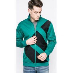 Adidas Originals - Bluza. Zielone bluzy męskie rozpinane adidas Originals, l, z bawełny, bez kaptura. W wyprzedaży za 269,90 zł.