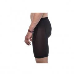 Spodenki pod szorty na rower MTB 900. Czarne odzież rowerowa męska marki ROCKRIDER, z elastanu, sportowe. Za 89,99 zł.