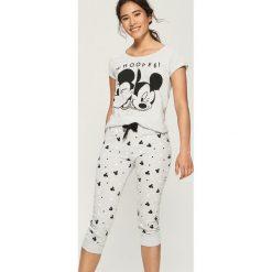 Piżama Mickey Mouse - Jasny szar. Szare piżamy damskie Sinsay, l, z motywem z bajki. Za 69,99 zł.